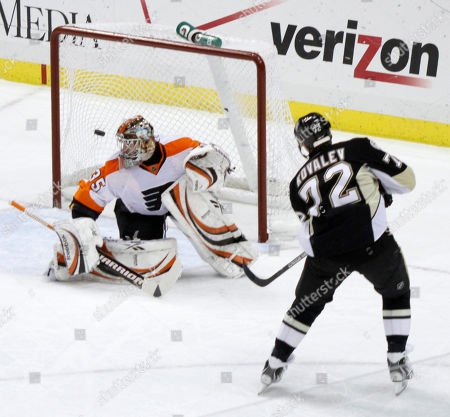 Editorial photo of Flyers Penguins Hockey, Pittsburgh, USA