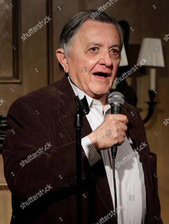 Gabe Pressman Veteran New York broadcast journalist Gabe Pressman appears at the Friar's Club, in New York