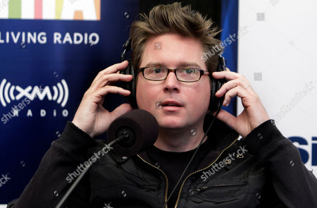 """Biz Stone Biz Stone, co-founder of Twitter, puts on earphones during his appearance on """"At Martha's Table,"""" with Martha Stewart, at the SiriusXM Satellite Radio studios in New York"""