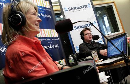 "Biz Stone, Martha Stewart Biz Stone, co-founder of Twitter, is interviewed by Martha Stewart during the broadcast of ""At Martha's Table,"" at the SiriusXM Satellite Radio studios in New York"