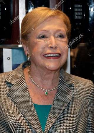 Mary Higgins Clark Author Mary Higgins Clark poses for photos after opening bell ceremonies at the New York Stock Exchange