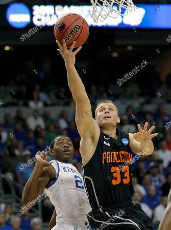 Editorial photo of NCAA Princeton Kentucky Basketball, Tampa, USA