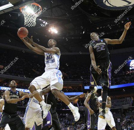 Editorial image of NCAA Washington North Carolina Basketball, Charlotte, USA