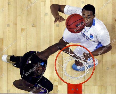 Editorial photo of NCAA Washington North Carolina Basketball, Charlotte, USA