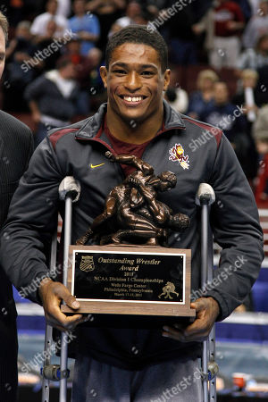 Anthony Robles Arizona State's Anthony Robles poses after winning the outstanding wrestler award, at the NCAA Division I Wrestling Championships in Philadelphia