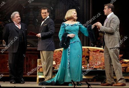 Editorial photo of Opera Review Capriccio, New York, USA