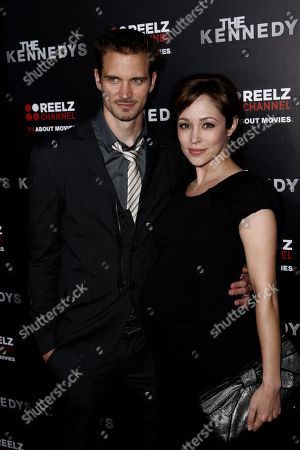 "Autumn Reeser, Jesse Warren Autumn Reeser, right, and Jesse Warren arrive at the premiere of ""The Kennedys"" at The Academy of Motion Pictures Arts and Sciences in Beverly Hills, Calif. on . ""The Kennedys"", an 8-part mini-series, will premiere on ReelzChannel on April 3"