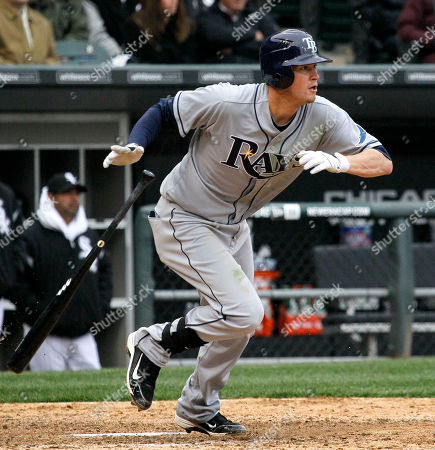 Reid Brignac Tampa Bay Rays' Reid Brignac watches his RBI single off Chicago White Sox starting pitcher Edwin Jackson, scoring Felipe Lopez, during the eighth inning of a baseball game and 5-1 loss to the White Sox, in Chicago