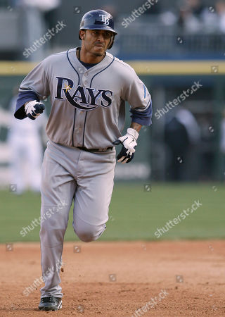 Felipe Lopez Tampa Bay Rays' Felipe Lopez rounds the bases after hitting a solo home run against the Chicago White Sox during the ninth inning of a baseball game in Chicago, . The White Sox won 4-2