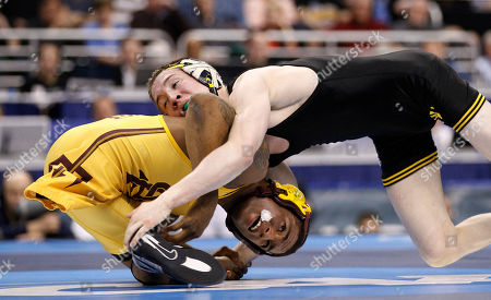 Anthony Robles Arizona State's Anthony Robles, left, battles against Iowa's Matt McDonough during their 125-pound finals match during the NCAA Division I Wrestling Championships in Philadelphia. Robles, born without a right leg, completed a 36-0 season at Arizona State with an NCAA wrestling title. Now, Robles is turning to a book and movie of his life and motivational speaking