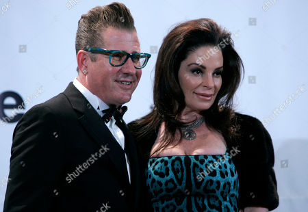 Lee Rocker Lee Rocker and wife Deborah appear backstage at the Rock and Roll Hall of Fame induction ceremony, in New York