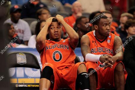Editorial photo of SEC Auburn Georgia Basketball, Atlanta, USA