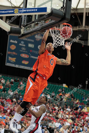 Editorial image of SEC Auburn Georgia Basketball, Atlanta, USA