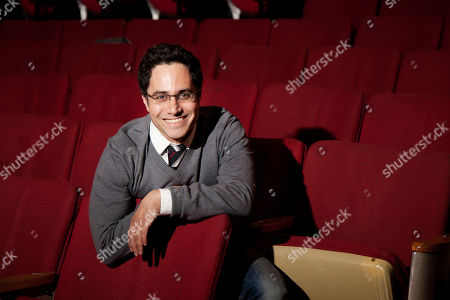 Rajiv Joseph Playwright Rajiv Joseph poses for a portrait in New York.World premiere plays by Doug Wright, Rajiv Joseph and Halley Feiffer, as well as a pair of David Mamet revivals, highlight the Atlantic Theater Company's upcoming season