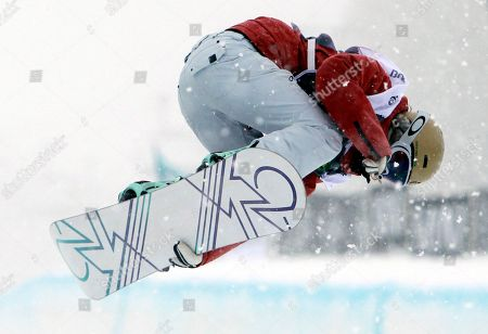 Gretchen Bleiler Gretchen Bleiler of the United States competes in the women's halfpipe semifinals at the U.S. Open Snowboarding Championships in Stratton, Vt., on