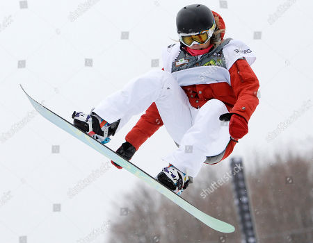 Hannah Teter Hannah Teter of the United States races to a second-place finish in the women's half-pipe at the U.S. Open Snowboarding Championships in Stratton, Vt. on