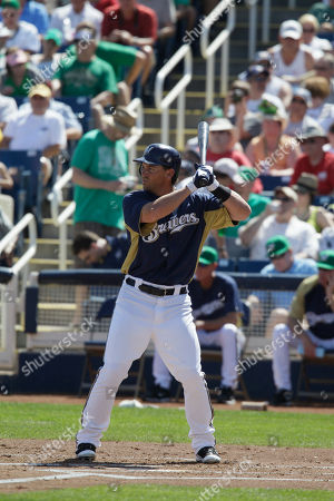 Jeremy Reed Milwaukee Brewers' Jeremy Reed waits to bat during the first inning of a spring training baseball game against the Chicago White Sox, in Phoenix