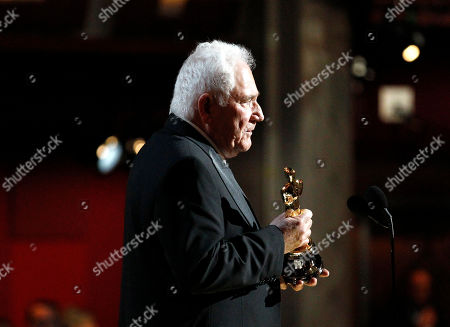 """David Seidler David Seidler accepts the award for best original screenplay for """"The King's Speech"""" at the 83rd Academy Awards, in the Hollywood section of Los Angeles"""