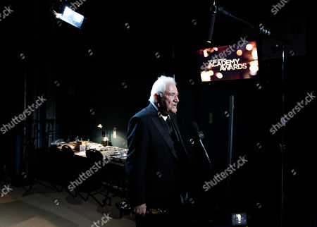"""David Seidler David Seidler is seen backstage after accepting the Oscar for best original screenplay for his work in """"The King's Speech"""" at the 83rd Academy Awards, in the Hollywood section of Los Angeles"""
