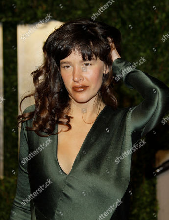 """Stock Image of Paz de la Huerta Paz de la Huerta arrives at the Vanity Fair Oscar Party at the Sunset Tower in Los Angeles. Prosecutors say TV actress Paz de la Huerta derided a former reality TV figure as a """"fake actress"""" after attacking her in a posh New York City hotel bar. The """"Boardwalk Empire"""" actress was arraigned on assault and other charges in her March 20 encounter with Samantha Swetra"""