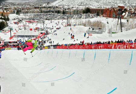 Rosalind Groenewoud In this Feb. 5, 2011, photo, Rosalind Groenewoud, of Canada, competes in the women's halfpipe finals at the freestyle skiing world championships in Park City, Utah. Groenewoud won the event. Sarah Burke, of Canada, was in critical condition, a day after she was airlifted from the mountains of Utah to a Salt Lake City hospital with injuries after a training accident in the superpipe at the site