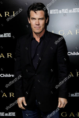 Josh Brolin Josh Brolin arrives at the BVLGARI Fundraiser benefitting Save The Children and Artists For Peace and Justice in Los Angeles