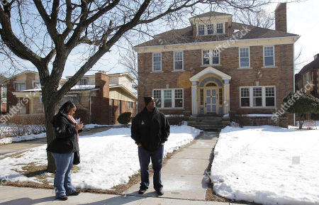 Editorial picture of Detroit Police Housing Offer, Detroit, USA