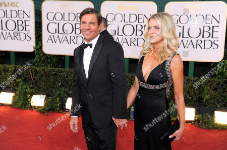 Dennis Quaid, Kimberly Quaid Dennis Quaid and Kimberly Quaid arrive at the Golden Globe Awards, in Beverly Hills, Calif