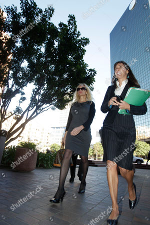 Lady Catarina Pietra Toumei, Gretchen Von Helms Lady Catarina Pietra Toumei, left, and her attorney, Gretchen Von Helms, arrive at the federal courthouse in San Diego, . Toumei, an alleged countess, has been charged in New York for wire fraud