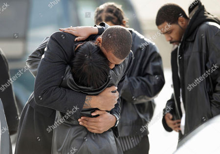 Thomas Robinson Kansas basketball player Thomas Robinson is hugged as he arrives for funeral services for mother Lisa Robinson, at Antioch Baptist Church in Washington