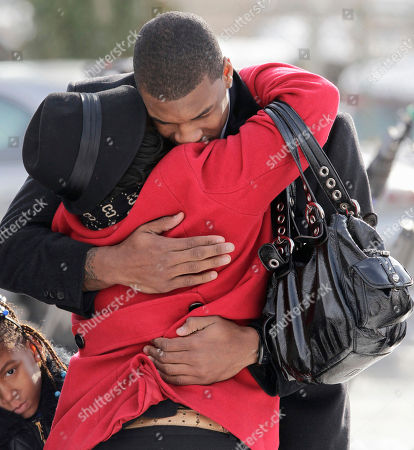 Thomas Robinson Kansas basketball player Thomas Robinson is hugged as he arrives for funeral services for his mother Lisa Robinson, at Antioch Baptist Church in Washington