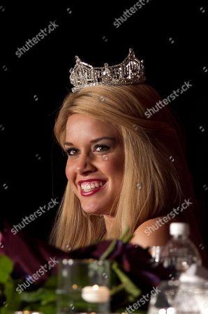 Teresa Scanlan Teresa Scanlan, Miss America 2011, at a dinner event on the last day of her homecoming tour of Nebraska, in La Vista, Neb