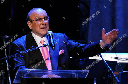 Clive Davis Producer Clive Davis speaks during the pre-Grammy gala & salute to industry icons honoring David Geffen in Beverly Hills, Calif. The demand is overwhelming for Clive Davis' annual pre-Grammy gala. The gala has featured performances from top acts like Whitney Houston, Aretha Franklin and Carlos Santana. This year, The Kinks will take the stage to play a medley of their hits, with the help of Jackson Browne and Elvis Costello. Mumford & Sons are hoping to arrive in time to get in on the performance, Davis said