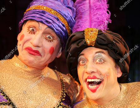 Jon Monie and Mark Buffery as The Ugly Sisters