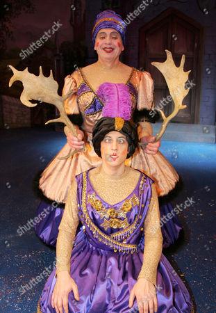Jon Monie and Mark Buffery as The Ugly Sisters