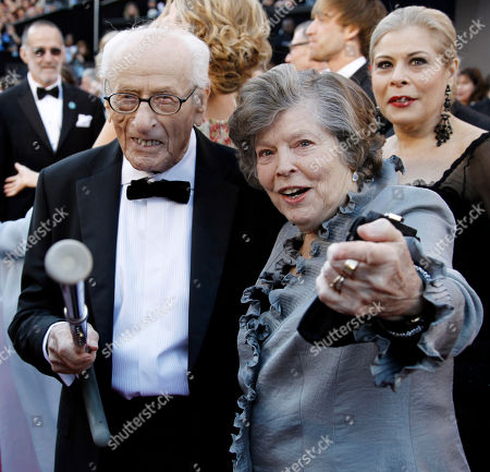 Stock Image of Anne Jackson, Eli Wallach Eli Wallach, left, and his wife Anne Jackson arrive before the 83rd Academy Awards in Los Angeles. Jackson, a Tony Award-nominated theater actress who often appeared onstage with Wallach, died of natural causes at her home in Manhattan, . She was 90