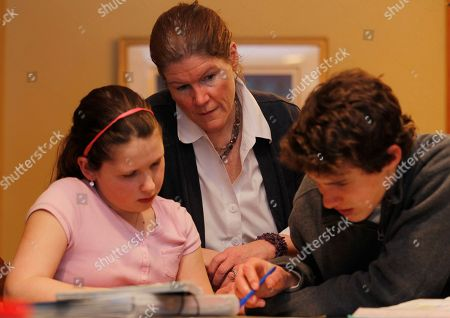Editorial photo of Parenting Teens Harder Homework, Chatham, USA