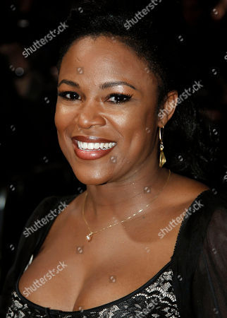 """Stock Image of Dequina Moore Dequina Moore arrives at the premiere of """"Joyful Noise"""" in Los Angeles, . """"Joyful Noise"""" will be released in theaters Jan. 13, 2012"""