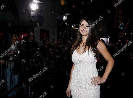 "Stock Image of Marija Karan Cast member Marija Karan arrives at the premiere of ""The Rite"" in Los Angeles on"