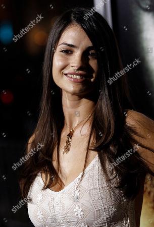 "Marija Karan Cast member Marija Karan arrives at the premiere of ""The Rite"" in Los Angeles on"
