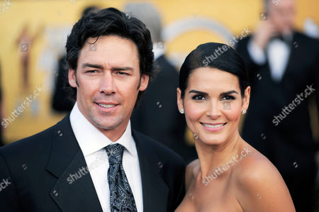 Stock Photo of Jason Sehorn, Angie Harmon Jason Sehorn and Angie Harmon arrive at the 17th Annual Screen Actors Guild Awards on in Los Angeles