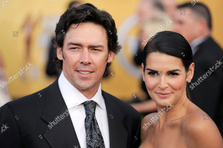 Stock Image of Jason Sehorn, Angie Harmon Jason Sehorn and Angie Harmon arrive at the 17th Annual Screen Actors Guild Awards on in Los Angeles