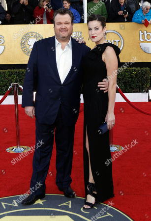 Stock Image of Eric Stonestreet, Catherine Tokarz Eric Stonestreet, left, and Catherine Tokarz arrive at the 17th Annual Screen Actors Guild Awards on in Los Angeles