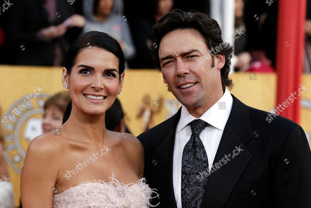 Angie Harmon, Jason Sehorn Angie Harmon, left, and Jason Sehorn arrive at the 17th Annual Screen Actors Guild Awards on in Los Angeles