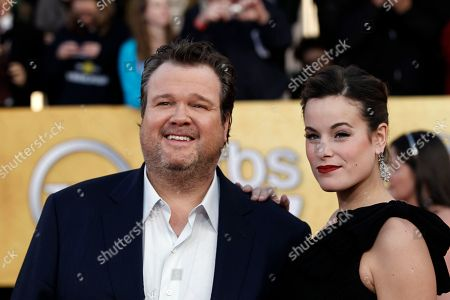 Stock Picture of Eric Stonestreet, Catherine Tokarz Eric Stonestreet, left, and Catherine Tokarz arrive at the 17th Annual Screen Actors Guild Awards on in Los Angeles