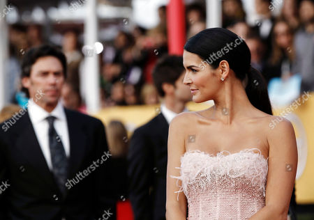Angie Harmon, Jason Sehorn Angie Harmon, right, and Jason Sehorn arrive at the 17th Annual Screen Actors Guild Awards on in Los Angeles