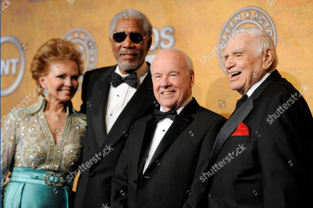 Tova Borgnine, Morgan Freeman, Tim Conway, Ernest Borgnine From left, Tova Borgnine, Morgan Freeman, Tim Conway and Ernest Borgnine pose at the 17th Annual Screen Actors Guild Awards on in Los Angeles. Ernest Borgnine was given the life achievement award