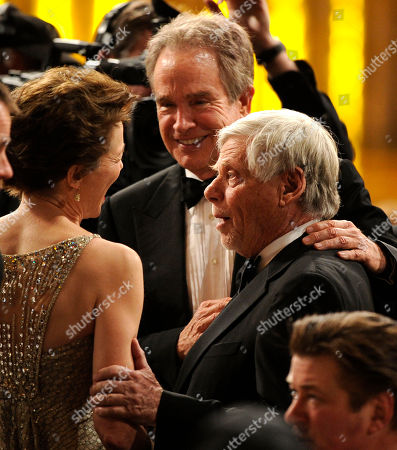 Annette Bening, Robert Morse, Warren Beatty Annette Bening, left, Warren Beatty, center, and Robert Morse are seen at the 17th Annual Screen Actors Guild Awards on in Los Angeles