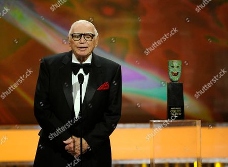 Ernest Borgnine Ernest Borgnine accepts the Life Achievement award at the 17th Annual Screen Actors Guild Awards on in Los Angeles