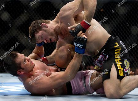Stock Picture of Forrest Griffin, Rich Franklin Forrest Griffin, right, keeps Rich Franklin pinned to the floor during the first round of a light heavyweight UFC 126 mixed martial arts bout, in Las Vegas. Griffin won by unanimous decision